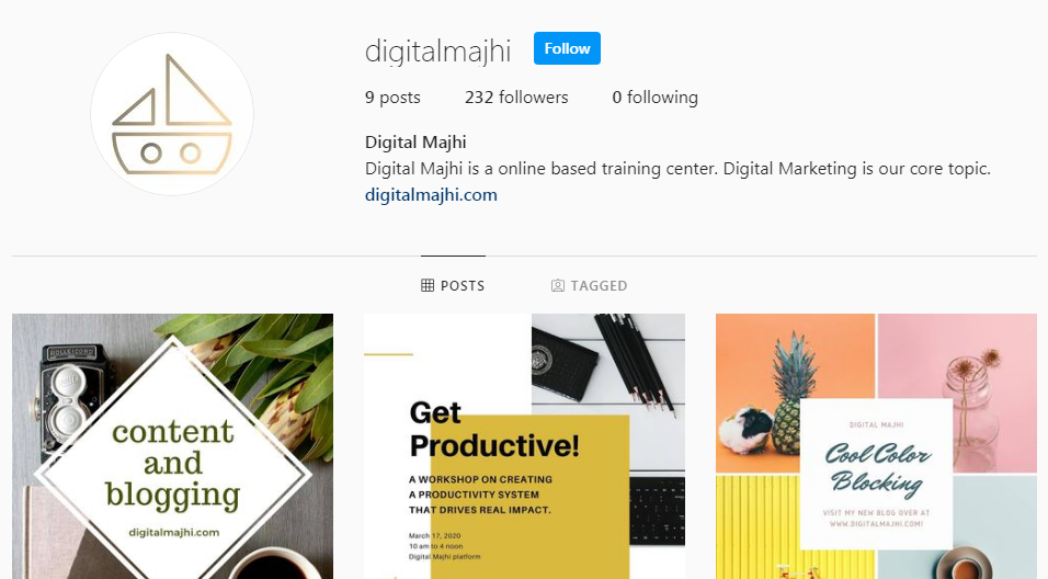 DM-Instagram-Page